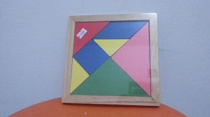 tangram - mainan kayu